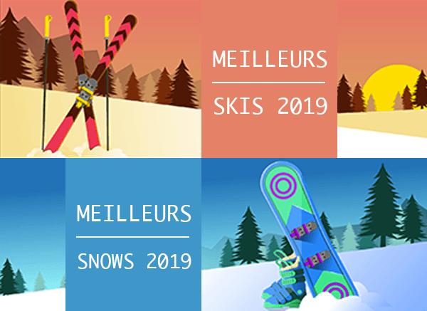 Meilleurs skis et snowboards 2019: nos tests