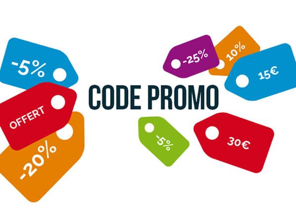 J'ai un code promo, comment l'utiliser ?