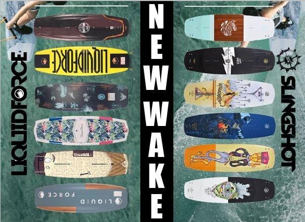 Wakeboards 2019: Nouveautés Slingshot & Liquid Force