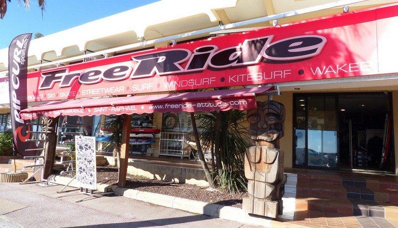 Freeride Attitude: Surfshop Fréjus Côte d'Azur