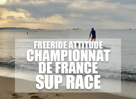 Freeride Attitude au Championnat de France de SUP Race 2019