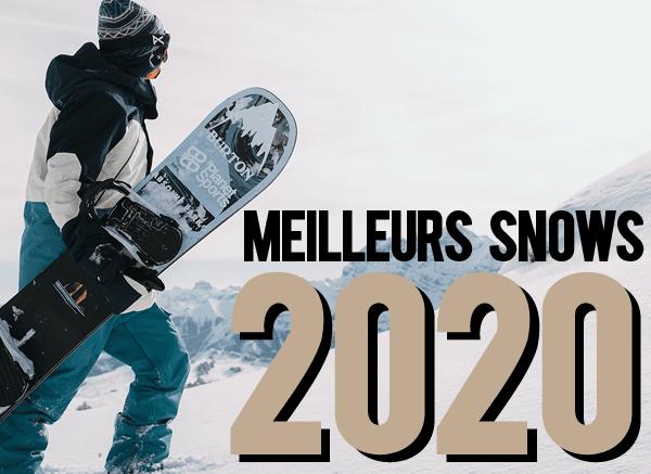 Les meilleurs snowboards 2020 – Test nouveautés snows 2020