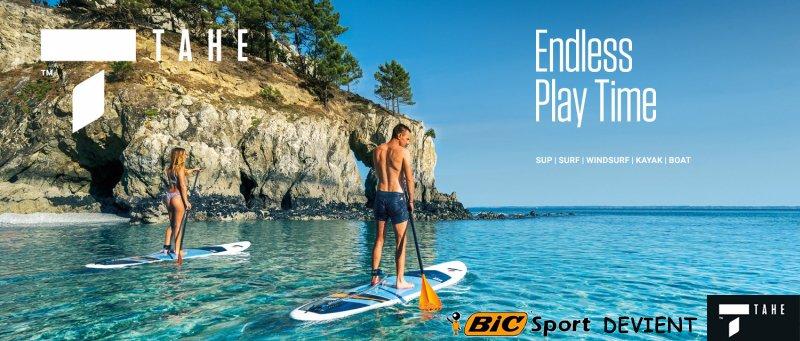 BIC Sport devient TAHE !