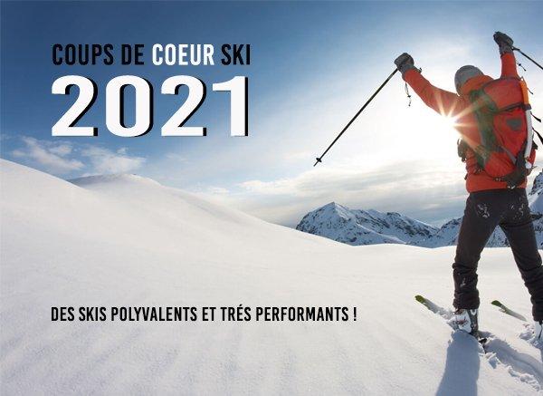 Nos coups de cœur ski 2021