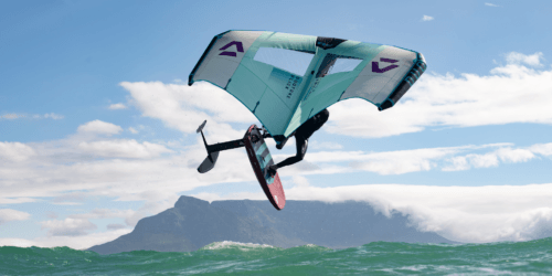 Slick Duotone Foil Wing Fanatic Sky Wing cape town jump