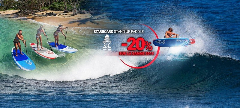 Starboard stand up paddle 2015